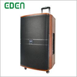 Vietnam Imprimir Spray Gabinete de madera profesional multimedia inalámbrico portátil recargable DJ sonido activo Karaoke Box Pro Audio Bluetooth altavoces PA con Tws