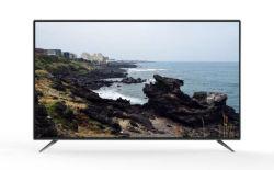 Televisor de 32 polegadas Android Market Cor inteligente UHD 4K Home LED LCD por satélite