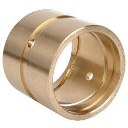 O bronze personalizados/bronze/ligas de cobre fundição centrífuga Bucha com ranhura de óleo