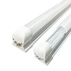 2FT T8 paroi du tube à LED pour éclairage de plafond Home/Office/Shop/usine, blanc froid de 9 Watt, 6500 Kelvin Couvercle en verre dépoli