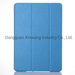 لجهاز iPad 2/3/4 Capa من جلد الحرير الفاخر للتنبيه الذكي أثناء النوم حقيبة قابلة للطي لمجلدات Apple iPad 2/3/4 تقف على لوحة واضحة غطاء Tc01