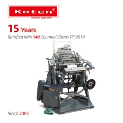 Brochure de la machine à coudre de thread de reliure (SX-01)