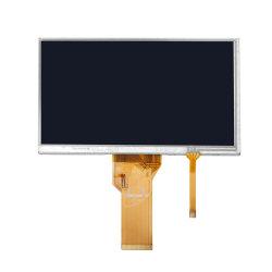 7 polegadas LCD 800 x 480 industrial com painel táctil Resistivo para a utilização do equipamento