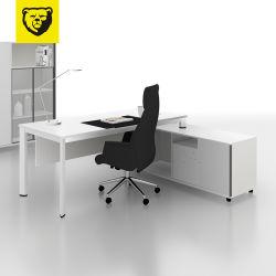 卸し売り標準サイズのオルガナイザーの家具はマネージャのための机のオフィスを台に置く