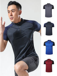 De T-shirt van de Sport van mensen/de In te ademen Stof /Quick Droge Comfortabele Fit/70803 van het Zweet