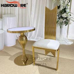 Presidenza pranzante posteriore di Furnitur di banchetto di lusso del trono alta