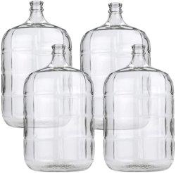 سعر المصنع 3 جالوون 5 جالون 6 جالون دورق زجاجي زجاجة كاربوي