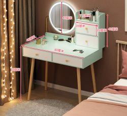 Frisiertisch mit Schließfächer, Schreibtisch mit Spiegel