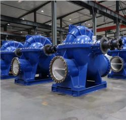 Axialement Split Double pompe à eau centrifuge industriel d'aspiration
