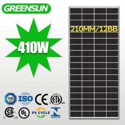 La Chine usine fabricant 210mm Module cellulaire 400W 410W monocristallin panneau solaire