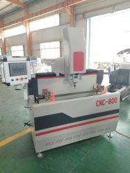 ماكينة الحفر والتفريز Lxf-CNC-800 CNC لمعالجة فتحات ذات شكل خاص لمحات حلية الألومنيوم الصناعية للأبواب و Windows