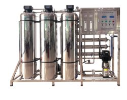 Water Softenerの完全なStainless Steel Auto Flushing Valves 1000gpd Pure Water Filter Reverse Osmosis Filter Plant