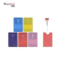 Vapore portatile flacone atomizzatore profumo in plastica a forma di tasca all'ingrosso Flacone