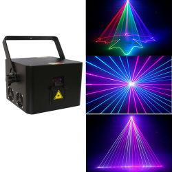 Nuevo Mini RGB 2W de luz láser Láser de animación de bodas de las luces de iluminación de escenarios