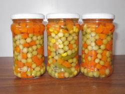 Ingeblikte gemengde groenten verse gemengde groenten in de verkoop van warme groenten