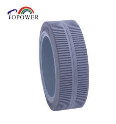 Transpaleta manual de plataforma de trabajo de la antena de rueda de goma de neumáticos sólidos 230X80 de Dingli/Jlg Genie/