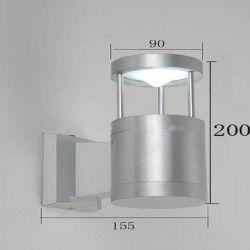 Qualitäts-Aluminiumlampe SGS-aufgeführtes im Freienwand-Licht IP54