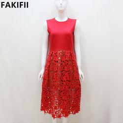 2021人の卸し売り製造業者OEM/ODMの女性水溶性のレースの女性の服