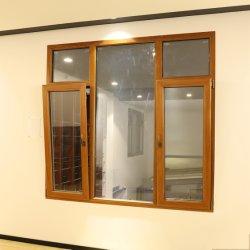 Último projeto Janelas exteriores com designs da Estrutura de alumínio revestido de madeira