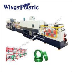 Pet plástico PP tira de fita de embalagem plástica preço do extrusor|máquina de fazer da trança de Pet|Pet linha de produção da correia da correia