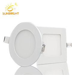 Dimmable Nature Warm Cool White 18W 36W Surface Mounted Round Square LED Ceiling Panel Light