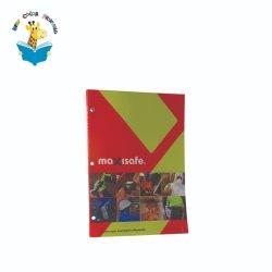 오프셋 인쇄를 가진 구멍 Die-Cut 브로셔 잡지 책