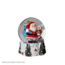 Giften van het Festival van Kerstmis van de Decoratie van het Polo van het Water van de Kerstman van de Ambachten van de hars de Creatieve Binnenlandse