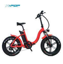 20-дюймовый электрический складной велосипед Kenda жир шины 36V 350 Вт