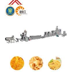 Máquina de producción de maíz fritas aperitivos Snack Pellet línea fritura