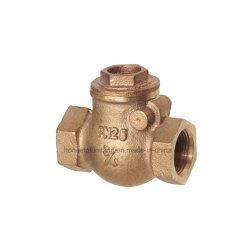 BronzeC83600 F/F Gewinde-Schwingen-Rückschlagventil