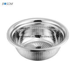 Grade 410 plats en acier inoxydable de grande capacité de la plaque du bac pour laver les légumes fruits de la viande