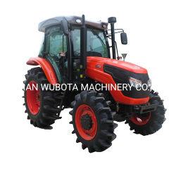 Exploitation agricole utilisé Kubota semblables 100HP tracteur 4 roues motrices