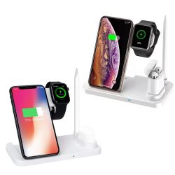 이동 전화 부속품 제조자를 위한 1개의 무선 충전기 빠른 Wireless/USB/Travel 충전기 무선 비용을 부과 대에 대하여 베스트셀러 다기능 4