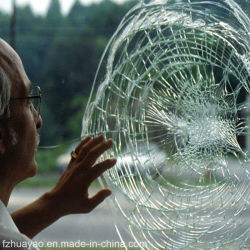 Produit de sécurité Double vitrage feuilleté trempé résistant à toute épreuve de la fenêtre le verre de construction