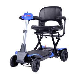 Automático Portátil plegado eléctrico Scooter de movilidad