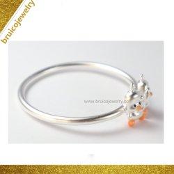 Bijoux en argent nouveau Design Aucune Pierre Brassard Bangle Bracelet Fashion pour bébé