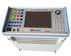 Micro relé de inyección de corriente secundaria Probador de protección de la unidad de prueba