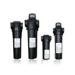 Verwijderen en verwijderen van onzuiverheden van nabewerkingsolie van het precisielilter van de luchtcompressor Compressieapparatuur