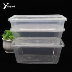 Хорошего качества Clear микроволновой Disosable пластиковый контейнер для продуктов питания