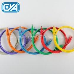 Cavo del connettore di Cat5e PVC/LSZH RJ45 di zona/cavo di fibra ottica/di rame della zona