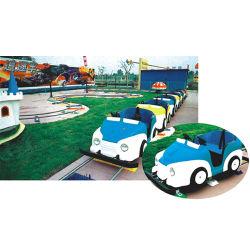 De Volwassene van het Spel van de Kinderen van de Leverancier van China berijdt Speelgoed Gebruikt Spoor Achtervolgend de Fabrikanten van de Trein (KL6006)