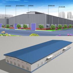 Ce système s'avérer acier du toit pour l'entrepôt