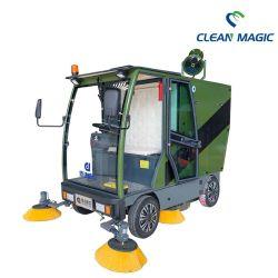 Limpiar la magia DJ2300gywp escoba de la máquina de limpieza de suelos industriales de la calle Carretera de esterilización Limpiador potente Sweeper precio de fábrica de aplicaciones comerciales