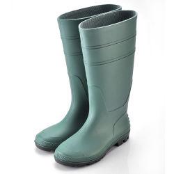 Les hommes de bottes de pluie de gros de chaussures de sécurité avec Steel Toe seul