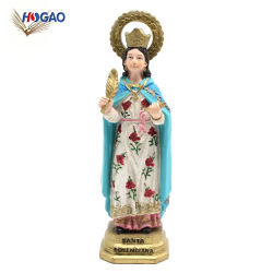 La religión cristiana católica de la Estatua de figurillas artesanales de resina de artículos religiosos para la decoración del hogar