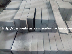 La production de bloc Le bloc de graphite de carbone personnalisé