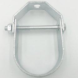 Personalizar Pre-Galvanized eléctrico / / DIP de galvanizado en caliente de la horquilla el colgador para el soporte del tubo