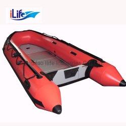 iLife 3.3m Good Price PVC/Hypalon Inflatable Rescue Rubber Boat ( iLife 3. 3m の価格が手頃な PVC/Hypalon 膨張 アルミニウム / ドロップステッチの空気 / 合板の床