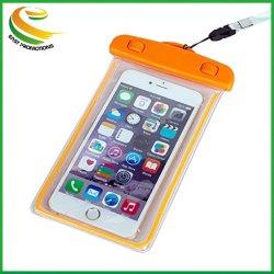 Sacchetto mobile del telefono delle cellule di nuoto impermeabile con la cinghia