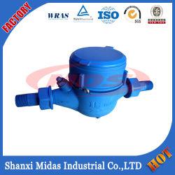De plastic multi-StraalMeter van het Water van de droog-Wijzerplaat van het Wiel van de Vin Koude (hete) voor Draagbaar Water